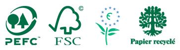 Logos et Labels écologiques Altiprint Font-Romeu, Egat